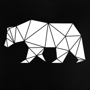Bear geometry art - Baby T-Shirt