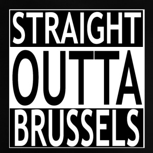 Straight outta Brussels - Baby T-Shirt