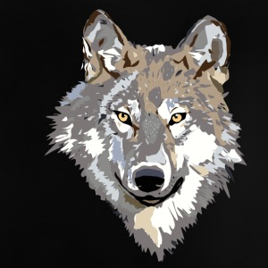 The wolf - Baby T-Shirt