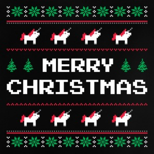 Merry Christmas | Ugly Sweater - Unicorn - Baby-T-skjorte