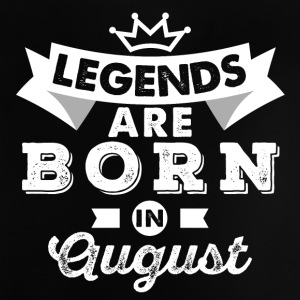 Legends August fødselsdag - Baby T-shirt