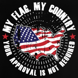 My flag, my country! USA Proud! - Baby T-Shirt