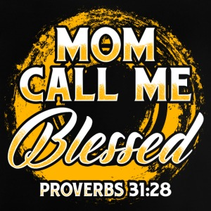 Mom Blessed! Children! Mum! Mother - Baby T-Shirt