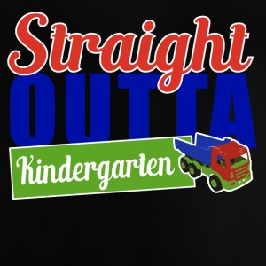 STRAIGHT OUT KINDERGARTEN - Baby T-Shirt