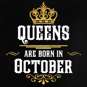 Queens Happy Birthday! Oktober! - Baby-T-skjorte