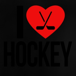 I LOVE HOCKEY - Baby T-shirt