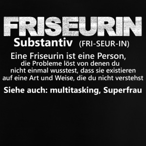 friseurinisteineperson substantiv - Baby T-Shirt