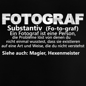Fotografisteineperson substantiv - Baby T-Shirt