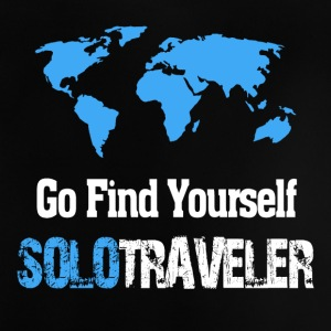 Go Find Yourself, SoloTraveler - Baby T-Shirt