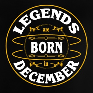 Birthday December Legends born gift Gebu - Baby T-Shirt