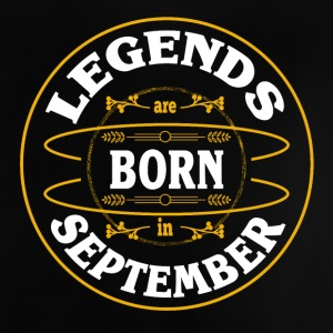 Birthday September Legends Born Gift Geb - Baby T-Shirt