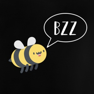 Bee - bzz - funny - funny - nature - summer - Baby T-Shirt
