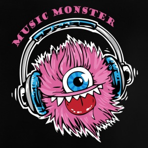 Music Monster DJ Party - Baby T-Shirt