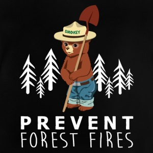 A LITTLE SMOKEY PREVENT FOREST FIRES - Baby T-Shirt