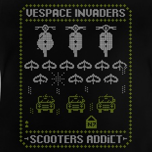 Vespace invaders - Baby T-Shirt