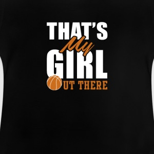basketball pige - Baby T-shirt