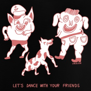 Let's Dance with your Friends - Baby T-Shirt