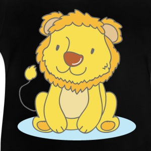 Lila The Lion - Baby-T-shirt