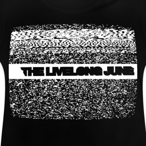 The Livelong June - Kudde med logotyp på analog TV - Baby-T-shirt