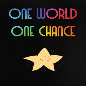 One World One Chance - Baby-T-skjorte