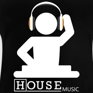 House Music - Camiseta bebé