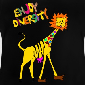 Enjoy Diversity - bunt - Baby T-Shirt