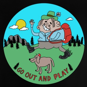 Go out and play by Cheslo - Baby T-Shirt