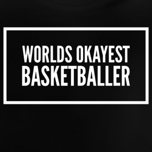 Werelden okayest basketbal - Baby T-shirt