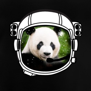 helm panda Astronaut alle bovengrondse hipster - Baby T-shirt