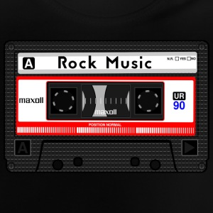 ROCK MUSIC KASSETTE - Baby T-Shirt