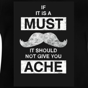 mustaches 2 - Baby T-Shirt