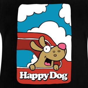 Happy_Dog - Baby-T-shirt