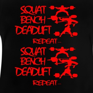 REPEAT Powerlifting - T-shirt Bébé