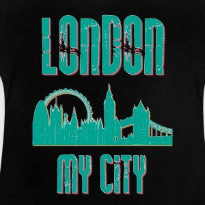 London MY CITY - Baby-T-skjorte