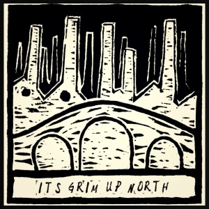 It's Grim Up North - Baby T-Shirt