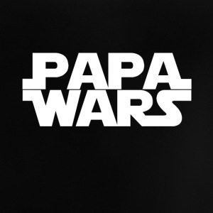 Papa wars - wit - Baby T-shirt