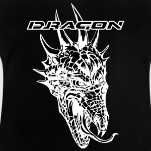 thornful negro dragón - Camiseta bebé