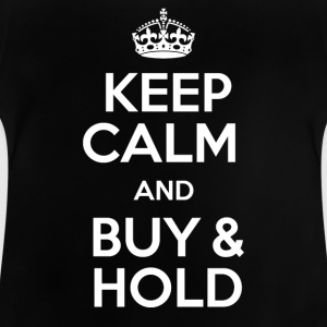 KEEP CALM AND KØB OG HOLD - Baby T-shirt