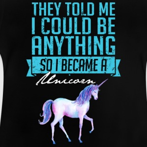 Blev A Unicorn - Baby-T-shirt