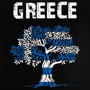 Nation-Design Greece Olive tree - Baby T-Shirt