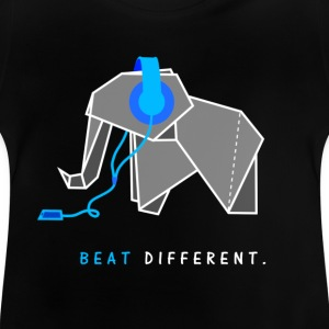 beat different elephant - Baby T-Shirt