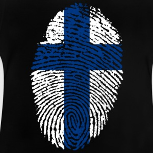 Fingerprint - Finland - Baby-T-shirt