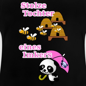 Stolze Tochter eines Imkers - Baby T-Shirt