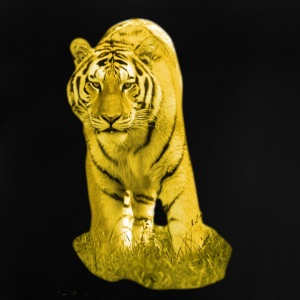 Yellow Tiger - Baby T-Shirt