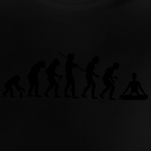Meditatevolution - Camiseta bebé