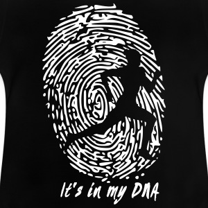 Running: Det är i min DNA - Baby-T-shirt