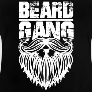 beard gang white - Baby T-Shirt