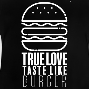 Burger Lover - Baby-T-shirt