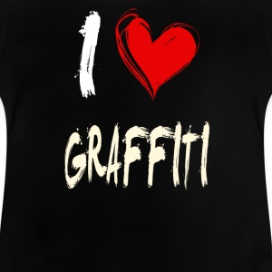 I Love Graffiti - Baby T-shirt