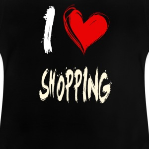 i love shopping - Baby T-Shirt
